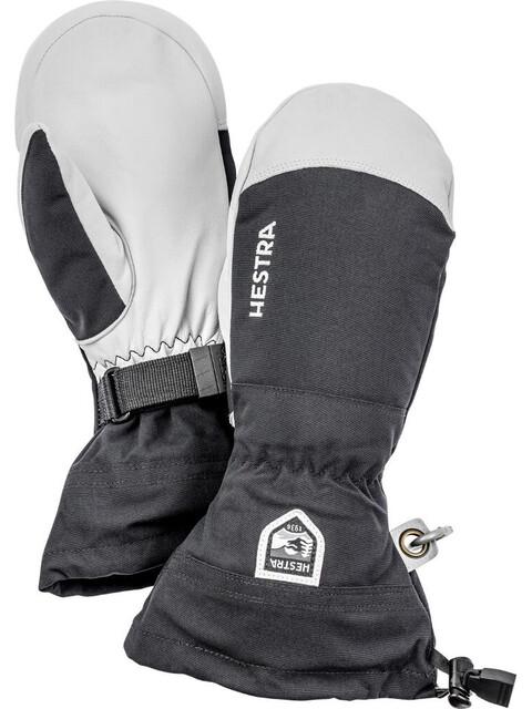 Hestra Army Leather Heli Ski Käsineet , valkoinen/musta